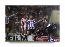 Chris Waddle Signed 6x4 Photo Sheffield Wednesday Autograph Memorabilia + COA