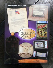 2020 Huggins & Scott May Auctions Catalog Babe Ruth Ball Mickey Mantle on Cover