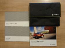 Renault Kadjar Owners Handbook/Manual and Wallet 15-18
