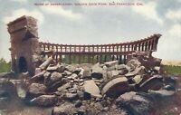 SAN FRANCISCO CA – Earthquake Ruins of Golden Gate Park Observatory