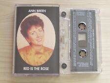 ANN BREEN 'RED IS THE ROSE' CASSETTE, 1998 JAB RECORDS, TESTED.