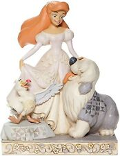 Disney Jim Shore 2020 Little Mermaid Ariel White Woodland Figurine 6008066