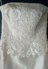 ALFRED ANGELO CREAM WEDDING DRESS