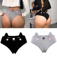 Funny Lingerie G-string Briefs Underwear Panties T string Thongs Women Knickers