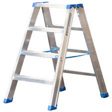 Alu-Stufen Stehleiter Mod. SL - Stufenanzahl: 4, Länge: 0,92 m