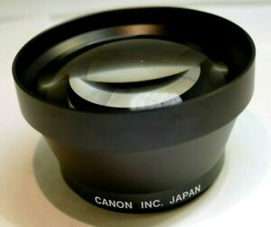 Canon 55mm 1.4X Telephoto threaded tele AUX converter Lens powershot