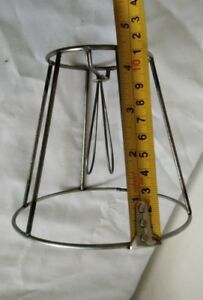 1 Clip-on Wire Shade Frame for Chandeliers & Sconces, DIY Industrial lamp shade