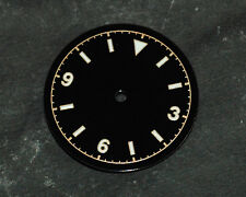 Bond Milsub Watch Gilt Dial for ETA 2824 / 2836  Movement 3 6 9 White Lume 28mm