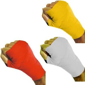 3X Sports Boxing Hand Wraps Bandage  MMA Elasticated wrist Protector Grip Mitts