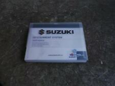 SUZUKI BALENO OWNERS / RADIO MANUAL & SERVICE BOOK IN CASE EW 04/16- 18