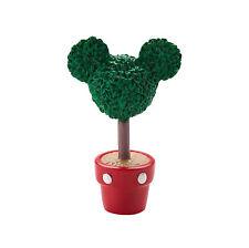Dept 56 Disney Christmas Village Mickey's Topiary Ear Shaped Plant Pot 4028299