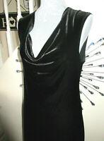 Hobbs Marilyn Anselm Velvet Evening Party Dress Size UK 14