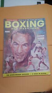 Boxing Illustrated + Wrestling News. April 1952. Carmen Basilio.