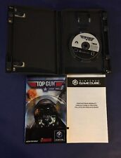 Top Gun Combat Zones - Gamecube complete In The Box!! Works100% Tested!! L@@K!!