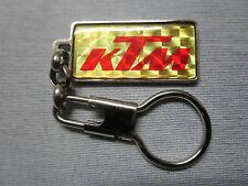 KTM - PORTACHIAVI IN METALLO ORIGINALE ANNI '80 - VINTAGE