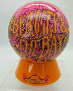 Benefit Makeup Tin Pink San Franscisco Bridge Psychodelic Globe Hippy EMPTY