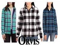 Orvis Ladies Fleece Lined Shirt Jacket Variety *NWT*