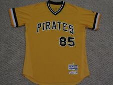 67b245d20fe JAUSS size 46  85 2017 Pittsburgh Pirates GAME USED jersey alt GOLD MLB holo