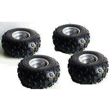 4X Go-kart ATV Tire with Wheel Assembly 145/70-6 Rim Go kart Mini Bike