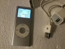 Apple iPod nano A1199, 2GB , 2nd gen.silver, working/tested