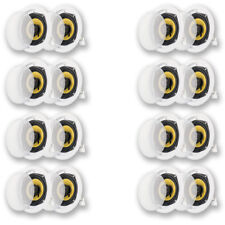 Acoustic Audio HD-5 In Ceiling Speakers Surround Sound Home Theater 8 Pair Pack