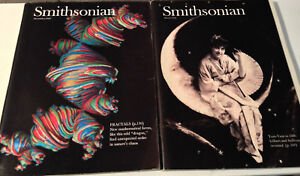 Smithsonian Magazine Lot 1984 March and December 1983 - Very Good Cond.