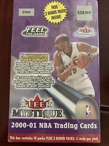 2000-01 FLEER MYSTIQUE BASKETBALL 12 CT RETAIL BLASTER BOX