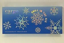 Cargo Cosmetics Chill In The Six Eyeshadow Palette Dual Ended Brush New!!
