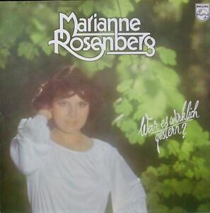 Marianne Rosenberg - War es wirklich gestern? --LP-- OIS