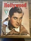 vintage+magazine+Hollywood+magazine+March+1940+Tyrone+power+cover