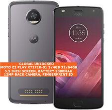 "MOTOROLA MOTO Z2 PLAY XT1710 3/32gb 4/64gb 12mp Fingerprint 5.5"" Smartphone"