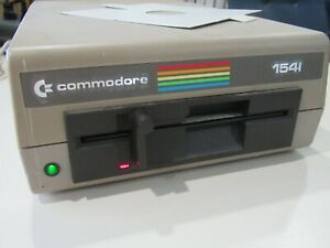"""COMMODORE 1541 5.25"""" DISK DRIVE FOR COMMODORE COMPUTERS TESTED/WORKING"""