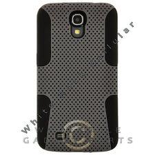 Samsung Galaxy Mega 6.3 Hybrid Mesh Case Gray Cover Shell Protector Guard Shield