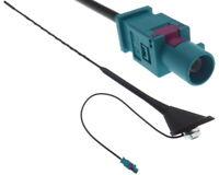 16V Antena de Techo Conector Fakra Pie Barra Auto con Amplificador + 8dB