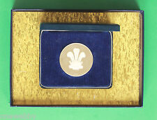 1969 Prince Charles Investiture Silver Medal COA SNo39173