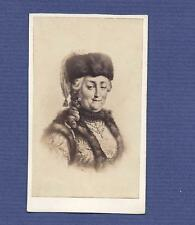 EMPRESS RUSSIA Catherine II, the Great ASCANIA / ROMANOV. Old CDV PHOTO albumen