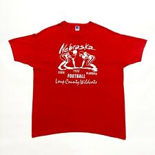 Loup County Wildcats 1988 Playoffs Tshirt | Vintage 80s Nebraska American Sports