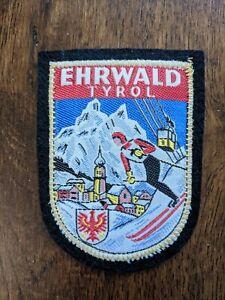 Ehrwald Tyrol Austria Ski Patch