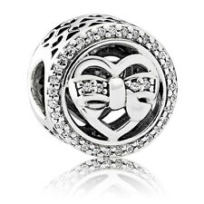 Original PANDORA Element Silber Bead 792146CZ Liebesbande