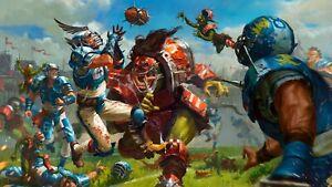 Blitz Bowl Teams - Skaven Halfling Chaos Undead New Seasons