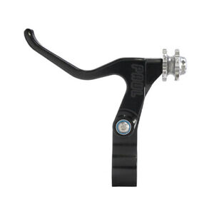 Paul Love Compact BMX V-Brake RIGHT Lever - Sealed Bearing - USA Made - BLACK