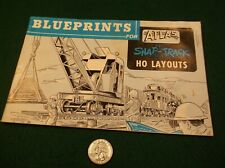"RARE VTG 1985 MODEL RAILROAD MANUAL ""BLUEPRINTS FOR ATLAS SNAP-TRACK HO LAYOUTS"""