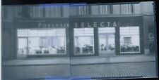 Poelerie Baudet - Selecta - Braine-le-Comte - Ancien négatif Photo Original
