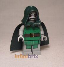 LEGO DR.DOOM da Set 76005 DAILY BUGLE SUPER HEREOS SPIDER-MAN DOTTORE sh052