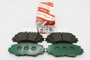 04465-02220 Toyota OEM Genuine PAD KIT, DISC BRAKE, FRONT
