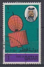 Qatar Katar Mi. 676 Broadcasting Centre | Satellite Radio fine used [g925]