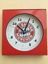 Wanduhr FC Bayern München 22858 Durchmesser ca. 30cm