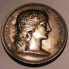 France Old Silver Medal . 1899 . Dubois .