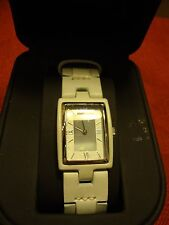 EMPORIO ARMANI GRAY LEATHER WATCH (NWT)