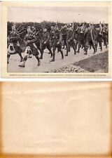 English Troops in France,Scottish Bagpipers,Photo Print fm Italian Book,1910/20s